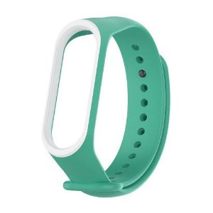 Silicone Dupla Verde Cayan - Mi Band 3/4