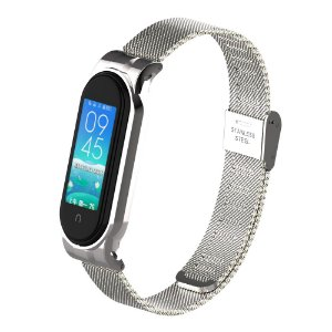 Metal Prata - Mi Band 5