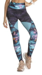 Legging Du Sell Sub Max Estampa Nuvens 5626