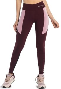 Legging Du Sell Fit com Tela Quadrile 5689