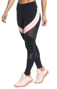 Legging Du Sell Fit Com Light e Tule Ref. 5726