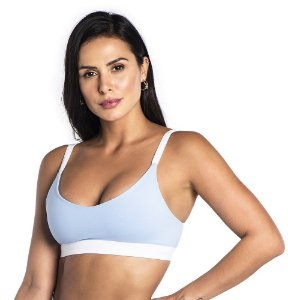 Top Du Sell Fit Fecho com Bojo Ref. 2952