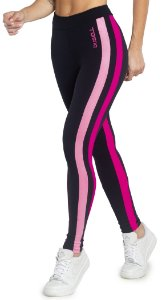Legging Du Sell Fit 2 tiras Coloridas Ref. 5777