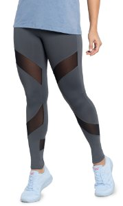 Legging Du Sell Compression com Tule Ref. 5766