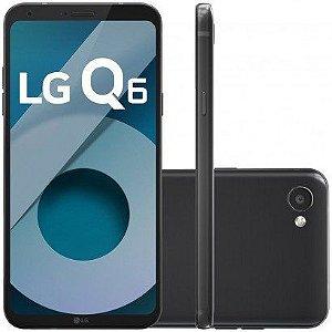 """Smartphone LG Q6 com 32GB, Tela 5.5"""", Android 7.0, 4G, Câmera 13MP, Processador Octa-Core e 3GB de RAM"""