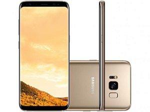 """Smartphone Samsung Galaxy S8 Plus Dual Chip com 64GB, Tela 6.2"""", Android 7.0, 4G, Câmera 12MP e Octa-Core"""
