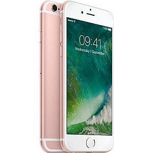 "iPhone 6s Apple com Tela 4,7"" HD, 64GB, 3D Touch, iOS 11, Sensor Touch ID, Câmera iSight 12MP, Wi-Fi, 4G, GPS, Bluetooth e NFC"