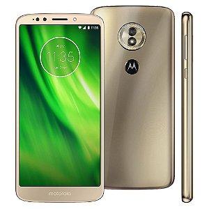 """Smartphone Motorola Moto G6 Play XT1922 Dual Chip, Android 8.0, 4G, Câmera 13MP, Processador Octa-Core e 3GB de RAM, 32GB, Ouro, Tela de 5,7"""""""