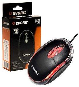 MOUSE OPTICO EVOLUT EO-101 800 DPI/GT-HOT01