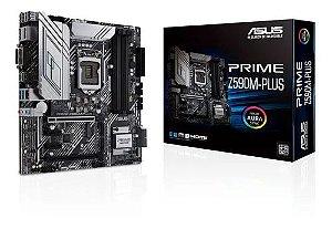Placa MAE Asus Prime Z590m-plus - Intel 11 Ger. Socket 1200