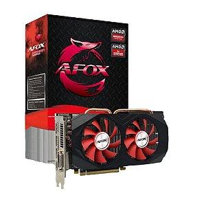 Placa de Vídeo Afox AMD Radeon RX 580 8GB GDDR5 - AFRX580-8192D5H3-V2