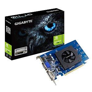 Placa De Video Gigabyte Geforce GT 710 1GB GDDR5 64 BITS