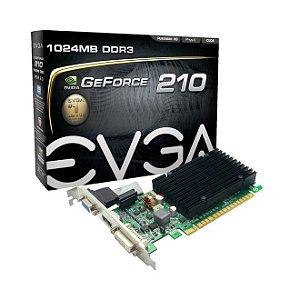 GeForce GT 210 1GB DDR3 64bits - EVGA 01G-P3-1313-KR