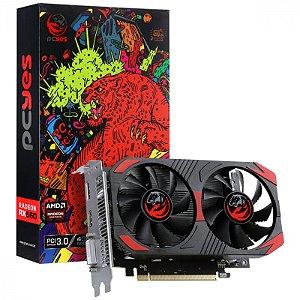 Placa De Video Amd Radeon PcYes Rx 560 4gb Gddr5 128 Bits - Graffiti Series - Pjrx560r5128