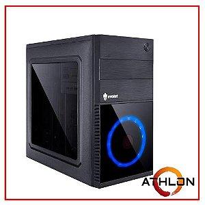 PC LIDER GAMER - AMD ATLHON 320GE/A320M/16GB/SSD 240GB/HD 500GB/500W 80 BRONZE/GT 710 2GB/GABINETE GAMER RGB