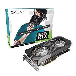 Placa De Video Galax, Geforce Rtx 3060 Ti (1-Click Oc), Lhr, 8gb, Gddr6, Dlss, Ray Tracing, 36isl6md1vqw- Lhr