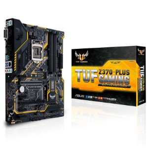 PLACA MÃE ASUS TUF Z370 PLUS GAMING LGA 1151