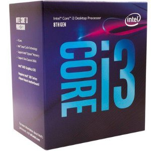 PROCESSADOR INTEL CORE I3-8100 COFFEE LAKE LGA 1151 3.6GHZ 6MB CACHE