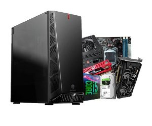 PC Gamer Líder Ultra - Core I5 9º, 8gb, Ssd 120, RTX 2060 GDDR6 6gb, Hd 1tb, 600w 80plus