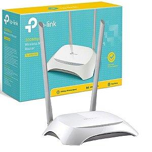 Roteador Wireless TP-Link TL-WR840N 300Mbps 4 Portas 2 Antenas Tp Link