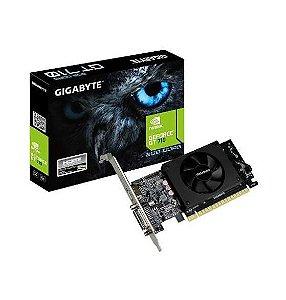 Placa De Vídeo Gigabyte Gt 710 2GB DDR5 Low Profile 64bits