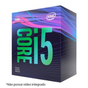 Processador Intel Core i5-9400F Coffee Lake, Cache 9MB, 2.9GHz (4.1GHz Max Turbo)