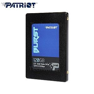 SSD Patriot Burst, 120GB, Sata III, Leitura 560MBs e Gravação 540MBs, PBU120GS25SSDR