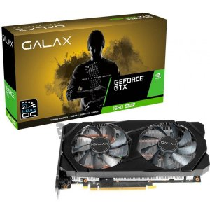 Placa de Vídeo Galax GeForce GTX 1660 Super (1-Click OC) Dual, 6GB GDDR6, 192Bit