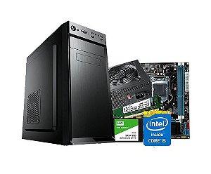 PC Lider Médio - Core i5 4º Geração, 8GB, SSD 240, 200W, GABINETE ATX