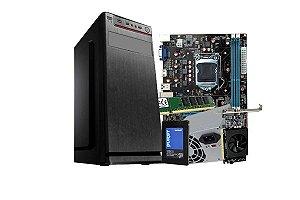 PC Lider Home Office - Core i5, 8GB, SSD 240, 200W,Gt 710, GABINETE ATX