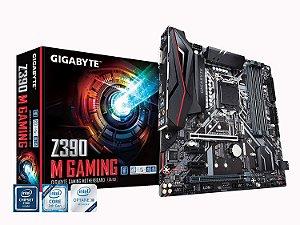 Placa-Mãe Gigabyte Z390 M Gaming, Intel LGA 1151, mATX, DDR4