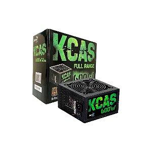 FONTE AEROCOOL KCAS 600W BRONZE FULL RANGE 80 PLUS, EN53374