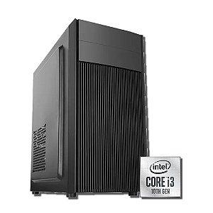 Cpu Gamer 10ªG- H410M-I3 10100F-16GB DDR4-SSD 240GB-FONTE 500W-GTX 1650-GABINETE GAMER