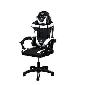 Cadeira Gamer/escritório Branca/preta Hoopson - Hp-cg506