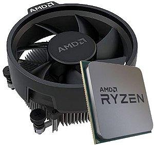 Processador AMD Ryzen 5 3500 OEM 3.6GHz (4.1GHz Turbo), 6-Cores 6-Threads, Cooler Wraith Stealth, AM4, 100-100000050MPK, S/ Video