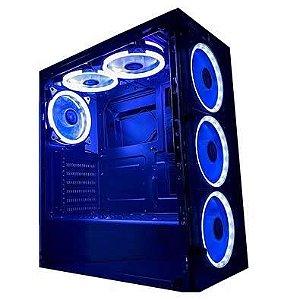 Pc Gamer LOL- A320M/Ryzen 5 3400G/8GB Ddr4/Ssd 240GB/500W Real/Gabinete RiseMode 06( SEM FANS)