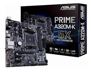 PLACA MAE (AMD) ASUS PRIME A320M-K/BR DDR4 AM4