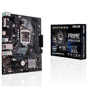 PLACA MAE ASUS PRIME H310M-E R2.0/BR DDR4 SOCKET LGA1151 CHIPSET INTEL H310