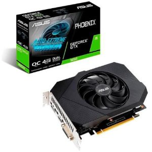 Placa de Vídeo ASUS Phoenix GeForce GTX 1650 OC, 4GB GDDR6, 128bit, PH-GTX1650-O4GD6-P