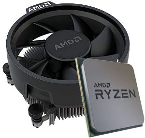 Processador AMD Ryzen 3 2200G OEM (AM4 / 4 Cores / 4 Threads / 3.5GHz / 6MB Cache / Cooler Wraith Stealth)