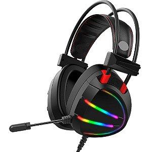 Headset Gamer Stereo AR70 Gaming Master Preto