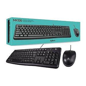 KIT TECLADO/MOUSE LOGITECH MK120