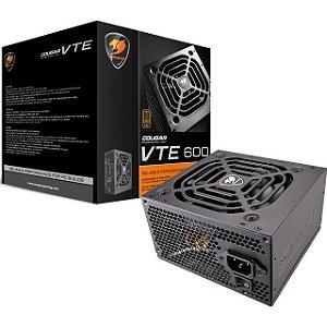 FONTE PC 600W 80 PLUS BRONZE BS-600 COUGAR