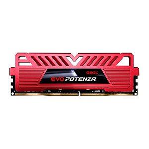 Memória DDR4 Geil Evo Potenza, Edição AMD, 8GB, 3600MHz, Red