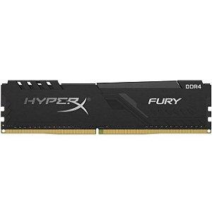MEMÓRIA HYPERX FURY, 8GB, 3200MHZ, DDR4, CL16, PRETO