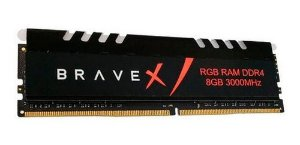 MEMORIA PC 8GB 3000MHz RGB DDR4 BRAVEX