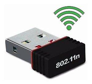 Mini Adaptador Wireless Usb Wifi