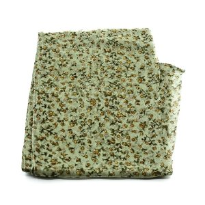 Écharpe de Chiffon Flor com Cabinhos 4 Cores