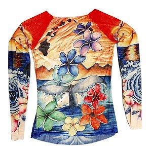 Blusa Tatoo Flor