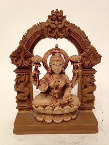 Estatueta de Lakshmi em Resina